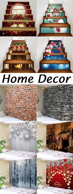 How to decorate your home?50% OFF Stair Stickers and Wall Tapestries.Free Shipping Worldwide.