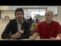 Alessandro Lasferza e Vincenzo Catoio (designer) raccontano, ai microfoni di ddnTV, la collezione Racconti D'Acqua esposta al Cersaie 2013