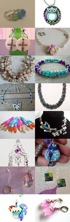 ETW Jewelry Artists by Deb Wise on Etsy--Pinned with TreasuryPin.com