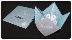 Chez cette Fille: PRINTABLE: Une carte amusante en forme de cocotte pour la fête des père et son enveloppe...