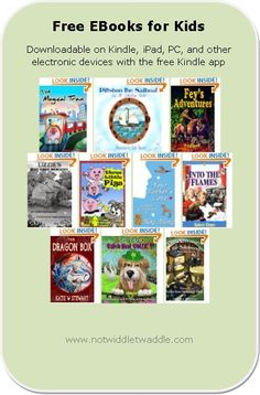 Here's today's free eBook list with lots of different types of books on all age levels