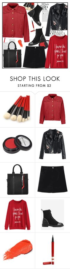 """Winter Prints: Dark Florals"" by melikasalkic ❤ liked on Polyvore featuring Manic Panic NYC, casual, velvet, polyvoreset and zaful"