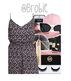 """: 388"" by brobie ❤ liked on Polyvore featuring Topshop, Quay, TOMS, MICHAEL Michael Kors, Napoleon Perdis and H&M"