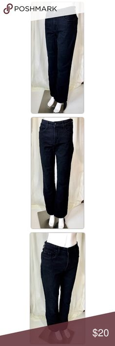 """NYDJ Black Bootcut High Waist Jeans Waist 32"""" Length 43"""" Inseam 33.5"""" Rise 10.5"""" Gently used with no flaws NYDJ Jeans Boot Cut"""