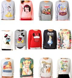 """""""Disney sweaters from Forever21"""" by mynameisbeautiful ❤ liked on Polyvore"""