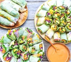 Read about Mango Mint Summer Rolls from Guest of a Guest on July 26, 2016