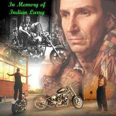 Indian Larry.. RIP a true legend of a bike builder