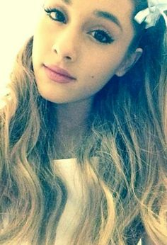 You are all beautiful all perfect. Don't change yourself to be someone your not. You are all loved, worth every penny and 100x prettier then me. We love you! And i hope one day you can see it cause everything i said is 100% true- Ariana grande <3