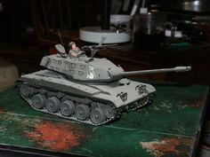"Light tank M-41 ""General ""Bulldog"" Walker"" 1950's"