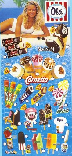 Vintage Advertising Posters, Vintage Advertisements, Vintage Posters, 90s Childhood, Childhood Memories, Ice Cream Prices, Kids Cereal, Ice Ice Baby, Old Ads