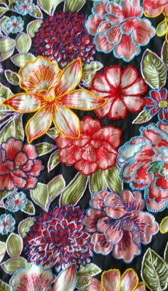 embroidered chita
