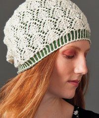 Knit a Lace Hat with a Lining - Knitting Daily - Blogs - Knitting Daily
