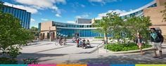 School: Another school I want to go to after high school is the University of Waterloo. Canadian Universities, Top Universities, Future Vision, After High School, Study Abroad, Sidewalk, University, Street View, Canada