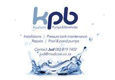 KPB Branding Pond Pumps, Branding, Brand Management, Identity Branding