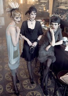 Night out flapper style.