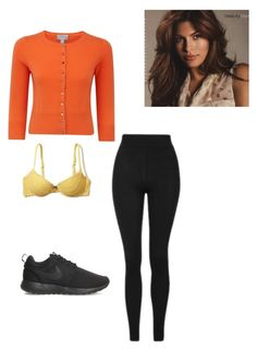 """""""Untitled #122"""" by yasminabuwi on Polyvore featuring Hollister Co., Topshop, Pure Collection and NIKE"""