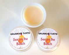 Sex on the Beach Scent  DRUNKEN TARTS  3 or 6 Soy by DrunkenTarts