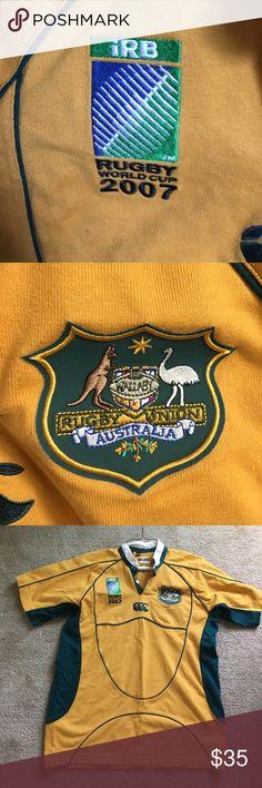 World Cup 2007 Australian rugby jersey Men's wallaby rugby jersey - Australia rugby union. Price negotiable Shirts Tees - Short Sleeve