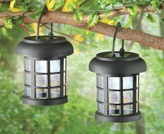 Delicieux Solar LED Garden Lanterns   Set Of 2