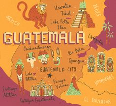 Mapped out Guatemala | Art and design inspiration from around the world - CreativeRoots