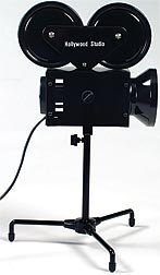 This Hollywood Camera Light makes a great decoration for your Hollywood themed event. The 13 5/8 inch high plastic and metal light is U/L approved.