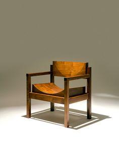 """joaquim tenreiro, cadeira tronco, 1954   """"design brasileiro de móveis – cadeiras, poltronas, bancos"""" (ed. olhares)"""