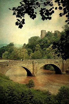 Ludlow Castle in Shropshire, England