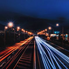 Long Exposure Traffic