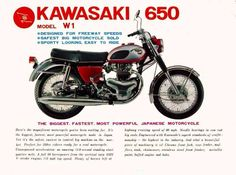 Kawasaki W1 650