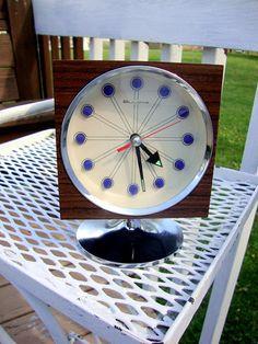 Atomic 50s Clock -- Cherry Berry Vintage on Etsy.