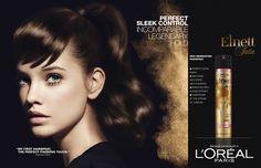 Barbara Palvin - L'Oreal Paris - Spring/Summer 2013 Ready-to-Wear - Fashion Advertisement Barbara Palvin, Top Male Models, Female Models, L'oréal Paris, Hairspray, Fashion Company, Fashion Brand, Child Models, Model Agency