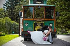 The Golden Limousine Trolley offers wedding groups the ultimate safe and comfortable transportation including our 32 passenger trolley. Spring Wedding, Dream Wedding, Wedding Day, Wedding Dreams, Special Day, Special Occasion, Wedding Transportation, Detroit Wedding, Ann Arbor