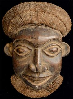 African Masks from the Bamileke tribe. Bamileke Mask 11. This African Mask is 11…