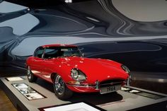 Jaguar E-type (© copyright photo) Volkswagen Group, Volkswagen Polo, Volkswagen Factory, Veteran Car, Sales People, Jaguar E Type, New And Used Cars, Chevrolet Corvette, Bugatti