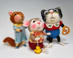 Needle Felting / Needle Felted Creations By Barby Anderson: January 2014