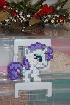 My Little Pony - Chibi Rarity Perler