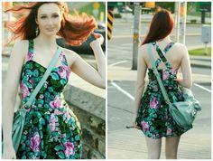 Skirt to dress refashion Part 2
