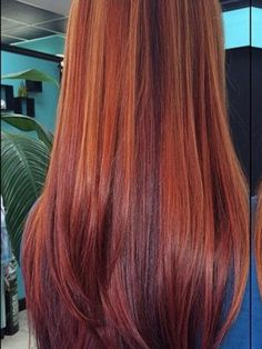Keeping natural red, but adding these highlights/lowlights. A cut with more dimension/layers. Shoulder-length (bangs, maybe)? Red Hair With Lowlights, Red Hair With Highlights, Ginger Hair Color, Hair Color Purple, Hair Colors, Natural Red Hair, Natural Hair Styles, Long Hair Styles, Shades Of Red Hair
