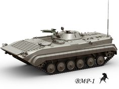 3Ds Max Bmp 1 Infantry - 3D Model