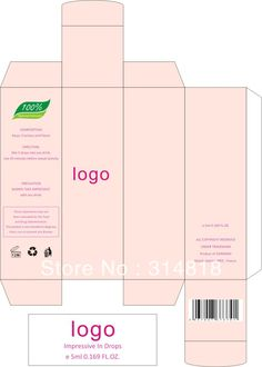 Box Label Design   ... OEM cosmetic packing box/Lipstick box design and printing whole sale