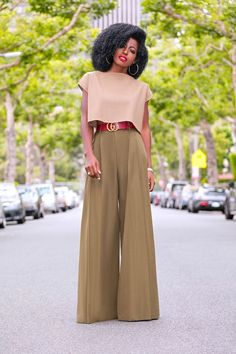 WHTI Compliant Journey Files And Passport Alterations After June Of 2009 Style Pantry Crop Top Palazzo Pants Fashion Mode, Work Fashion, Modest Fashion, Fashion Pants, Fashion Outfits, Womens Fashion, Fashion Trends, Daily Fashion, Trending Fashion