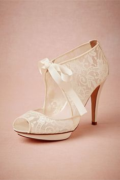 Chantilly Booties in Bride Bridal Shoes at BHLDN .I don t think you HAVE to  only use these as bridal shoes 7c34b550d3f9