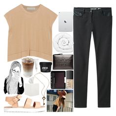 """""""i got lost in him"""" by princessalexandra13 ❤ liked on Polyvore featuring STELLA McCARTNEY, T By Alexander Wang, NARS Cosmetics, Brinkhaus, Boyy, Waterworks and H&M"""
