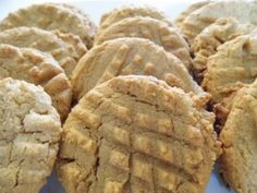 Easy Peanut Butter Cookies...No Flour Required!