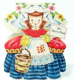 Vintage Hallmark Doll Card Land Of Make by RidleysRecycling, $12.00