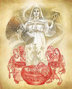 Макошь - славянская Мать-Земля.
