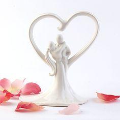 marfim doce abraço de casamento bolo topper – BRL R$ 43,54