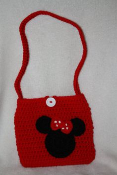 Mouse purse. Child size. Crochet. Handmade. by TracyplusCrochet, $15.00