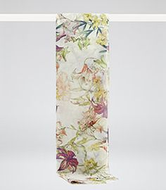 Womens Sugar Printed Scarf - Reiss Valencia