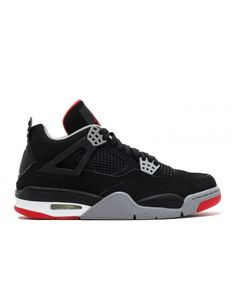 sports shoes f92b1 e05ad Air Jordan 4 Retro Countdown Pack Black Cement Grey Fire Red 308497 003